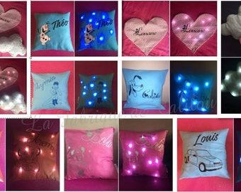 Bright night pillow
