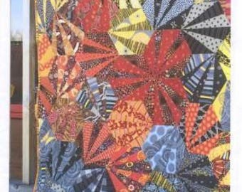 Chinese Fireworks quilt pattern from Aardvark  Quilts