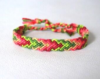 Bracelet Brazilian fancy colorful graphic multicolored Brasilda Graphic neon