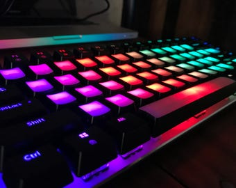 Keyboard with modified keys | RGB with 18 lighting modes