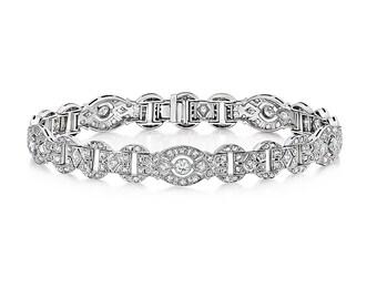Amazing vintage diamond bracelet