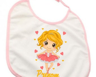 "Custom bib ""Little star dancer"""