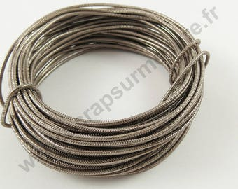 Aluminum wire Ø 2 mm x 1 m - old ROSE - wire
