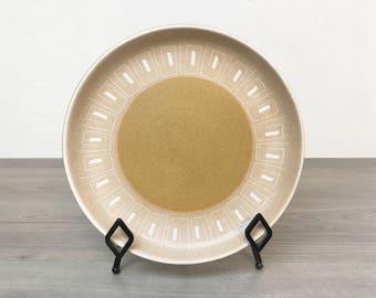 Vintage 1960s Denby Ode Plate Set of 2
