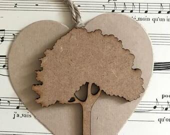 Decorative tree wood