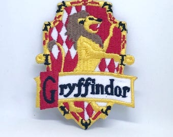 151# HARRY POTTER GRAYFFINDOR (1) Iron Sew on Embroidered Patch