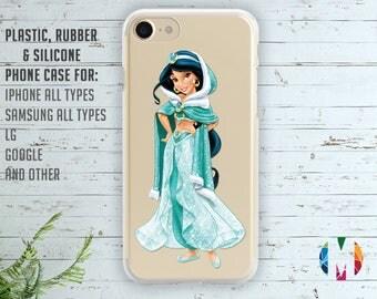 Jasmine case clear case Aladin case Iphone 6s case Samsung S7 case Iphone 6 plus case Samsung S6 case Iphone X case Rubber case LG G6 case