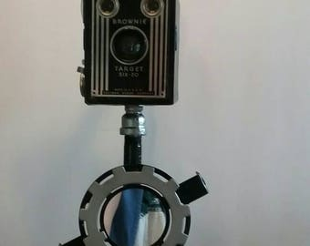 Brownie Target Camera Table Lamp