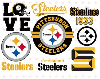 Pittsburgh Steelers Svg, Pittsburgh Steelers Clipart, Pittsburgh Steelers Decal, Pittsburgh Steelers Cut File, Pittsburgh Svg file Eps Dxf