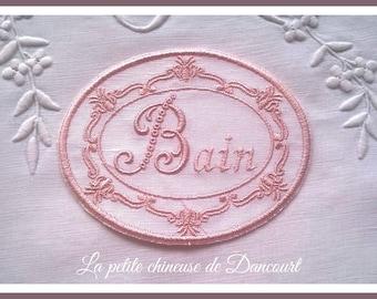 Medallion Lise Bain powder pink