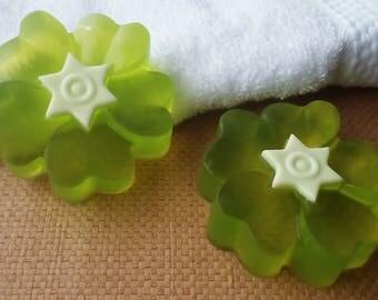 Natural floral soap - Aloe Vera soap - Natural favor soap - Moisturizing soap - Decorative soap - Organic soap - Vegan soap - Handcrafted