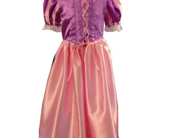 Princess Rapunzel dress costume