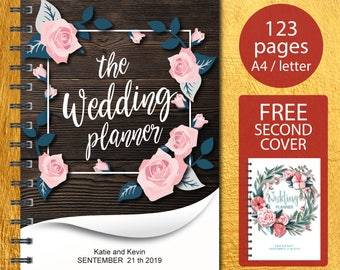 Wedding Planner Printable, Wedding Planner, Wedding Planner pdf, Planning Book, Wedding Binder Template, Engagement Gift Ideas, PDF Download