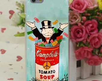 """Luxury case """"Campbell soup"""""""