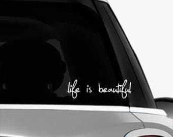 Life is Beautiful - Laptop Skin Decal-Misc