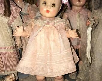 "19"" Vintage All Composition Ideal Doll"