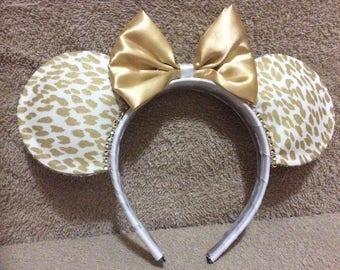 Animal Print Mickey Ears