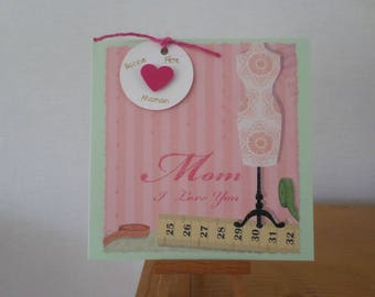 card for moms with bust