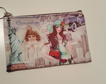 Clutch purse fashion American