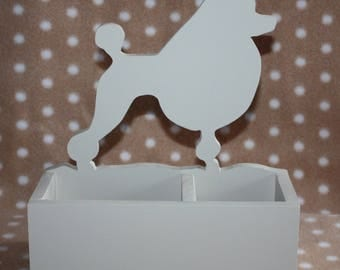 Pencil holder / cell poodle