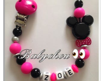 Sweet with name Mini wooden beads