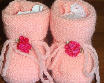 BABY PINK WITH PINK FLOWER