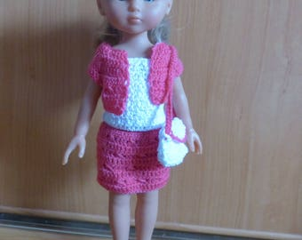 set of three outfits for Corolla darlings, paola reina dolls clothes