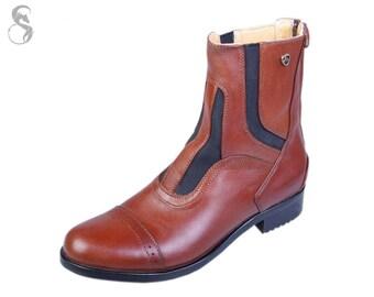 Brown Jodhpur Boots from Skidar