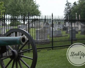 Cemetery, Historic, Stock Photo, Gettysburg, Canon, PA, Soldiers National Cemetery