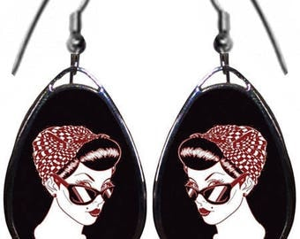 These Pinup earrings