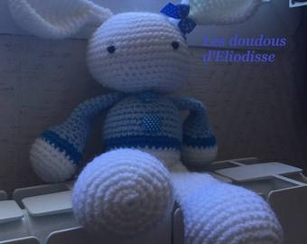 Plush Blue Bunny