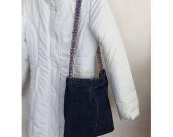 Dark blue by BAGART jean bag jean shoulder bag