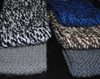 Child Snood two-tone Blue/Navy