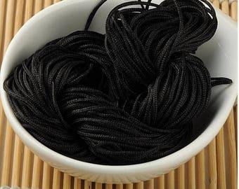 Wire black macrame craft 30 meters