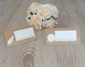 10 Table card names shell
