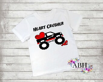 Heart crusher T Shirt/Infant/Toddler/Youth Shirts/Adult themed shirts/Valentine's day