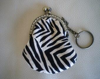 Keychain, purse, patchwork fabric door-chips