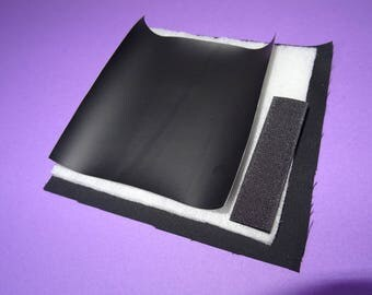 Kit and tutorial option table black with velcro for bag-room