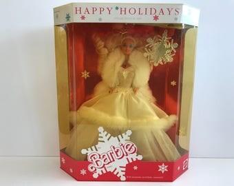Happy Holidays Barbie Special Edition 1989