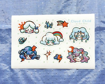 Cloud Child Stickers