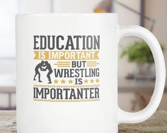 Wrestling Coffee Mug Funny Gift Idea