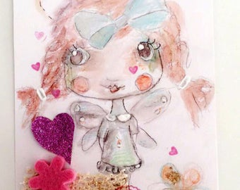 """Butterfly Lilirose and gluttony"" - any whimsical decoration"