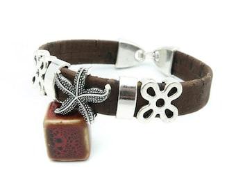 Corky Starfish Bracelet