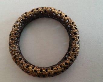 1 round ring filigree (bronze)