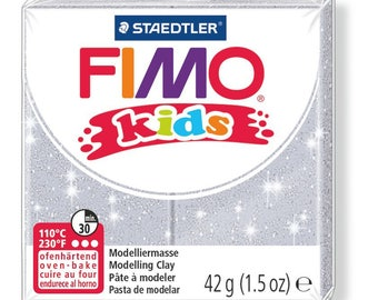 Polymer clay Kids 42 g - silver Paillete N 812 - Ref 68030812 - while quantities last!