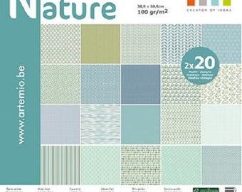 Papers still 30.5 x 30.5 cm - 40 sheets - Artemio - Ref 11001906
