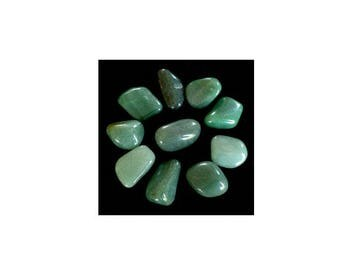 approximately 3 cm 1 stone rolled aventurine for the creation of your jewelry gemstones