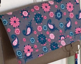 Bag/clutch spring floral reversible and lined so chic!