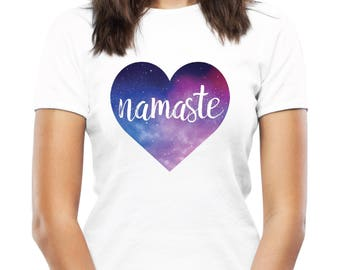 Namaste Tshirt - Original Casual Women's Yoga T-Shirt