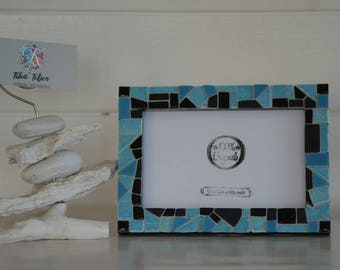Picture frame creation in Mosaic for home decor